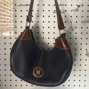 Navy Dooney and Bourke purse